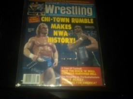 Sports Review Wrestling Magazine June 1989