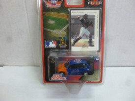 White Rose Collectibles Team Collectible Mets - Mike Piazza Diecast Car and Card