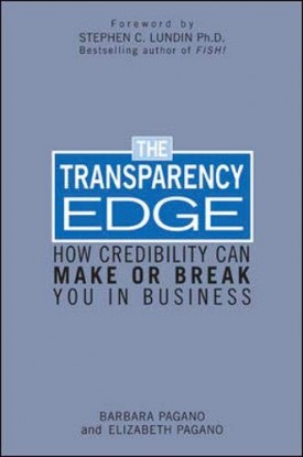 The Transparency Edge: How Credibility Can Make or Break You in Business (Hardcover)