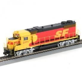Athearn HO Scale Powered Locomotive 78907 Santa Fe GP38-2 #2371