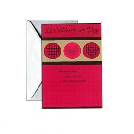 Valentines Day Greeting Card - Its Valentines Day [Office Product]
