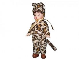 McDonalds 2003 #06 Madame Alexander Doll Halloween Leopard Costume