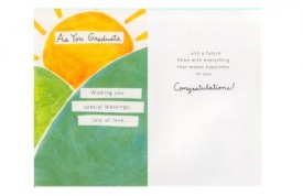 Graduation Greeting Card Religious [Office Product]