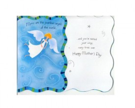 Mothers Day Greeting Card Angels [Office Product]