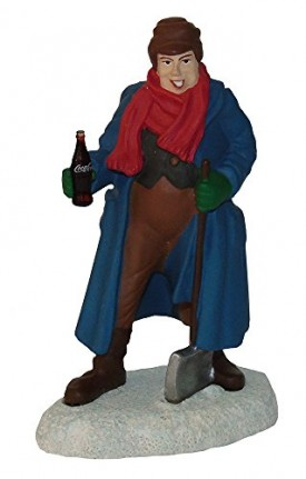 Coca-Cola Town Square Collection Man with Shovel
