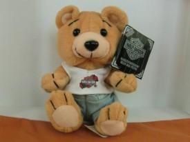 Vintage 1998 Harley Davidson Evo The Bear Bean Bag Plush