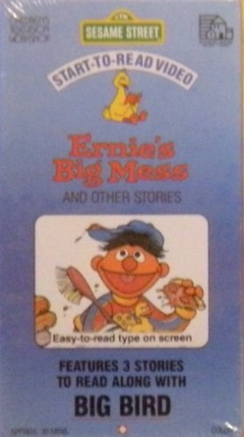 Ernies Big Mess and Other Stores Start-to-read Videos [VHS Tape] [1987]