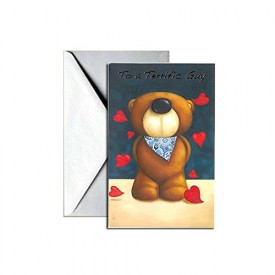 Valentines Day Greeting Card - For A Terrific Guy [Office Product]