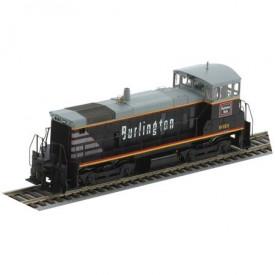Athearn HO Scale Powered Locomotive 95808 Chicago Burlington & Quincy SW1000 #9313