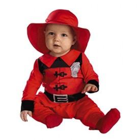 Infant Baby Fireman Halloween Costume (3-12 Months)