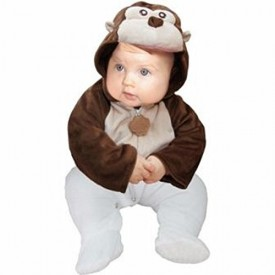 Monkey Jacket Halloween Costume 12-18 Months