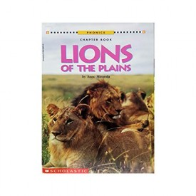 Lions of the Plains (Scholastic Phonics Chapter Book) (Paperback)
