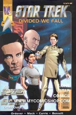 Star Trek Divided We Fall #2 Wildstorm Comics 2001