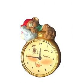 Hallmark Night Watch Lapel Pin - Mouse on Watch