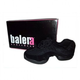 Balera Dancewear Black Suede Dance Sneaker No. B190 (7)