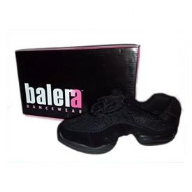 Balera Dancewear Black Suede Dance Sneaker No. B190 (8)