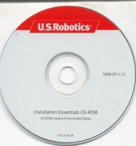 3Com U.S. Robotics Installation Essentials CD-ROM NAM SP 2.13