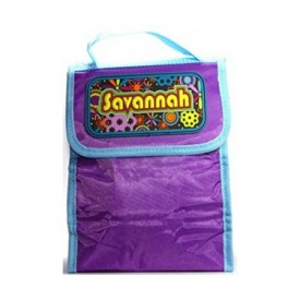 Personalized Lunch Bag--Savannah