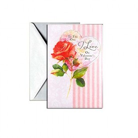 Valentines Day Greeting Card - To The One I Love [Office Product]