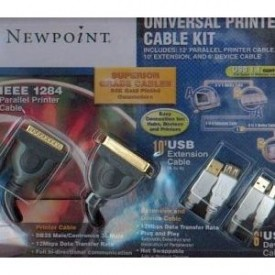 Newpoint Gold Universal Printer Cable Kit