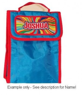 PERSONALIZED LUNCH BAG--JONATHAN