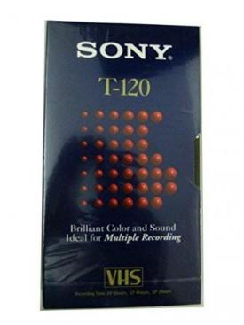 SONY ES T-120 Dynamicron Blank VHS Tape
