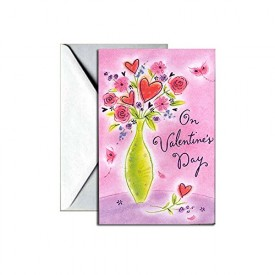 Valentines Day Greeting Card - On Valentines Day [Office Product]