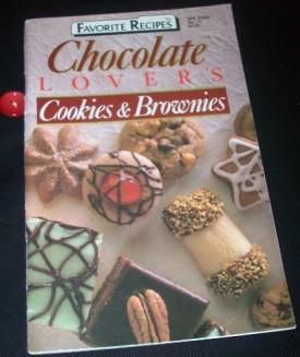 Favorite Recipes (Chocolate Lovers Cookies & Brownies) (Favorite Recipes Magazine, 5) (Cookbook Paperback)