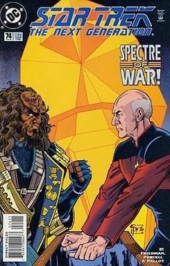 Star Trek: The Next Generation #74 Comics Aug 1, 1995