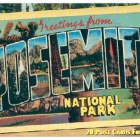 Greetings from Yosemite National Park Postcard Book [Mar 01, 2000] Gibbs Smith