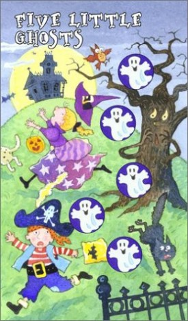 Five Little Ghosts (Hardcover)