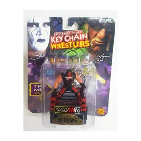 Electronic Talking Keychain Wrestlers Sting ToyBiz 1998