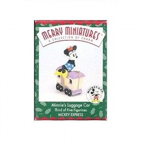 Merry Miniatures 1998 Minnies Luggage Car