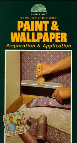 Paint & Wallpaper (How-To Video Guide) [VHS] [VHS Tape] [1996]