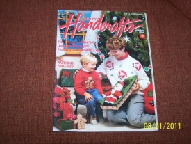Country Handcrafts Magazine Back Issue Holiday 1994