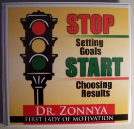 STOP Setting Goals START Choosing Results (6 Audio Cassettes Set)