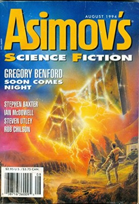 Asimovs Science Fiction August, 1994 Volume 18, No. 9 (Collectible Single Back Issue Magazine)