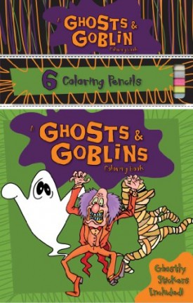 Ghosts & Goblins Coloring Book (Paperback)