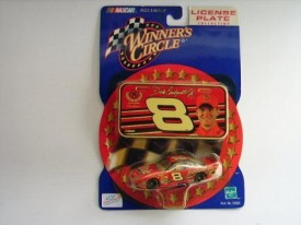 NASCAR Winners Circle License Plate Collection - Dale Earnhardt, Jr. #8