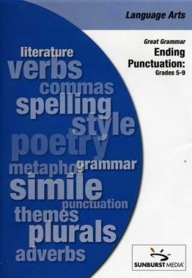Sunburst Visual Media DVD & VHS Video Set: Great Grammar: Ending Punctuation (Grades 5-9) (DVD)