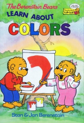 The Berenstain Bears Learn About Colors (Cub Club) (Vintage) (Hardcover)