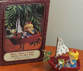 1994 Memories of Yesterday Bout Time I Came Along To See You Hanging Ornament by Enesco