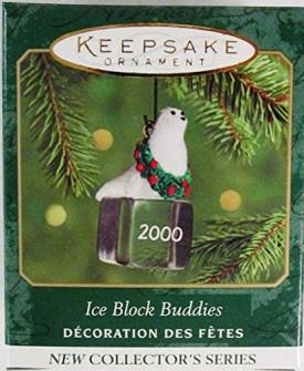 Ice Block Buddies #1 - 2000 Hallmark Ornament QXM6011