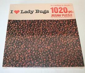 Vintage Hoyle Products I Heart Lady Bugs 1020pc Jigsaw Puzzle