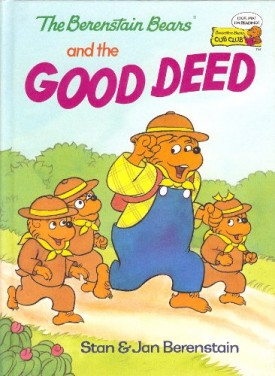 The Berenstain Bears and the Good Deed (Berenstain Bears Cub Club) (Vintage) (Hardcover)