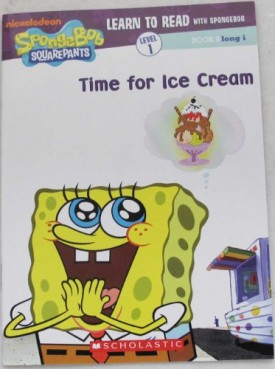 Time for Ice Cream (Learn to Read with Spongebob) (Paperback)