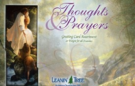 Thoughts & Prayers Value Pack Greeting Card Assortment of 20 Cards with 22 Envelopes