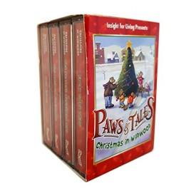 Paws & Tales Christmas in Wildwood 4 Vol. Audio Cassette [Audio Cassette] Chuck Swindoll