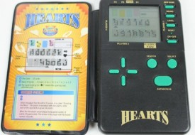 Vintage HEARTS ELECTRONIC HANDHELD Game (1995/Instructions Included)