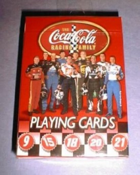 CocaCola Nascar Playing Cards [Toy]